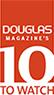 Douglas Magazine's 10 to Watch