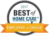 Best of Home Care 2017 Employer of Choice Award