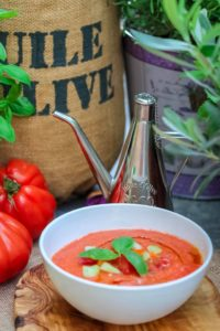 yummy gazpacho retro recipe